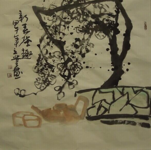 生盛夏100幅优秀国画作品欣赏26
